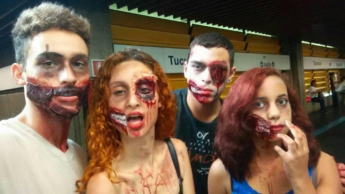 zombie wlak